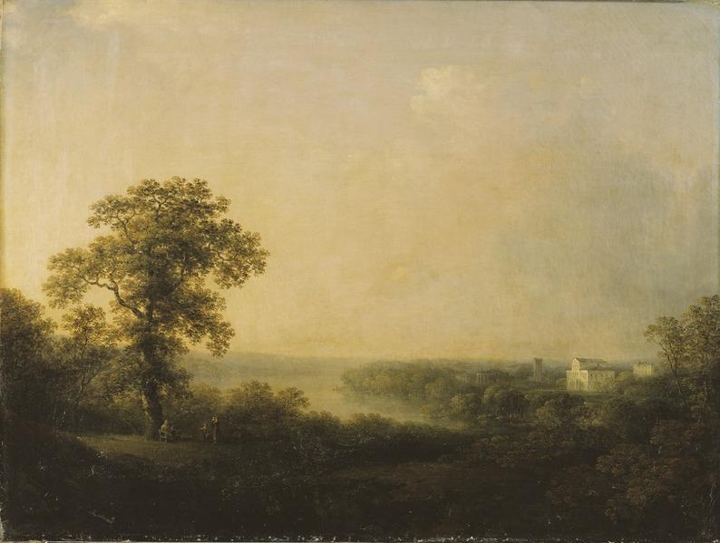 Carl Johan Fahlcrantz, View of Haga, 1811, Nationalmuseum