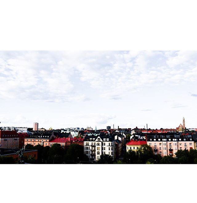 Maybe not my favourite Swedish city, but surely with the nicest view points.