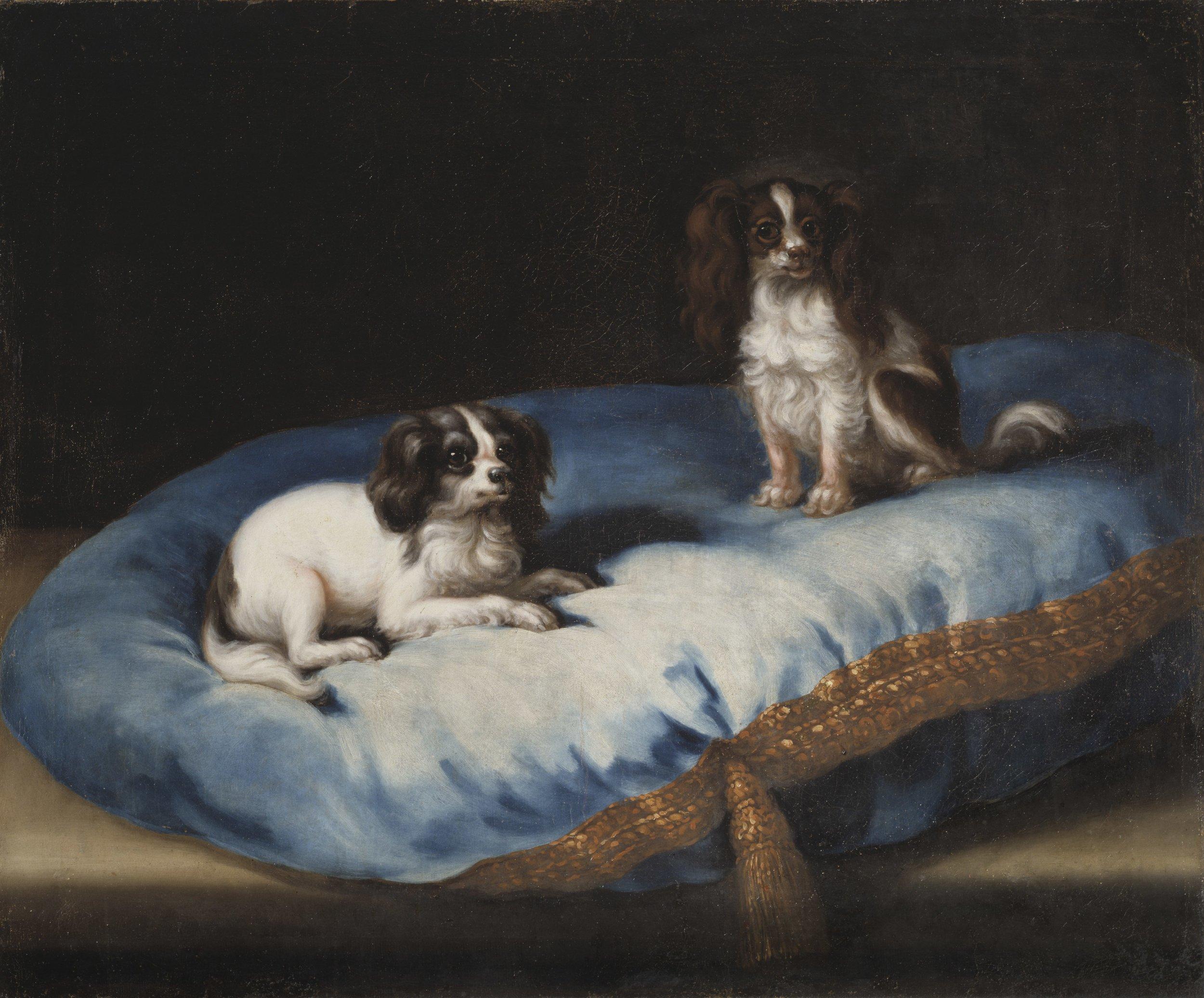 David Klöcker Ehrenstrahl, Två mindre hundar, Nationalmuseum, photographer Erik Cornelius.jpg