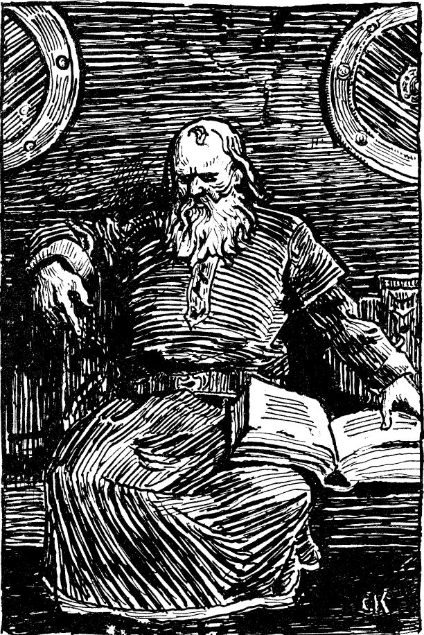 Christian Krogh, Snorri Sturluson