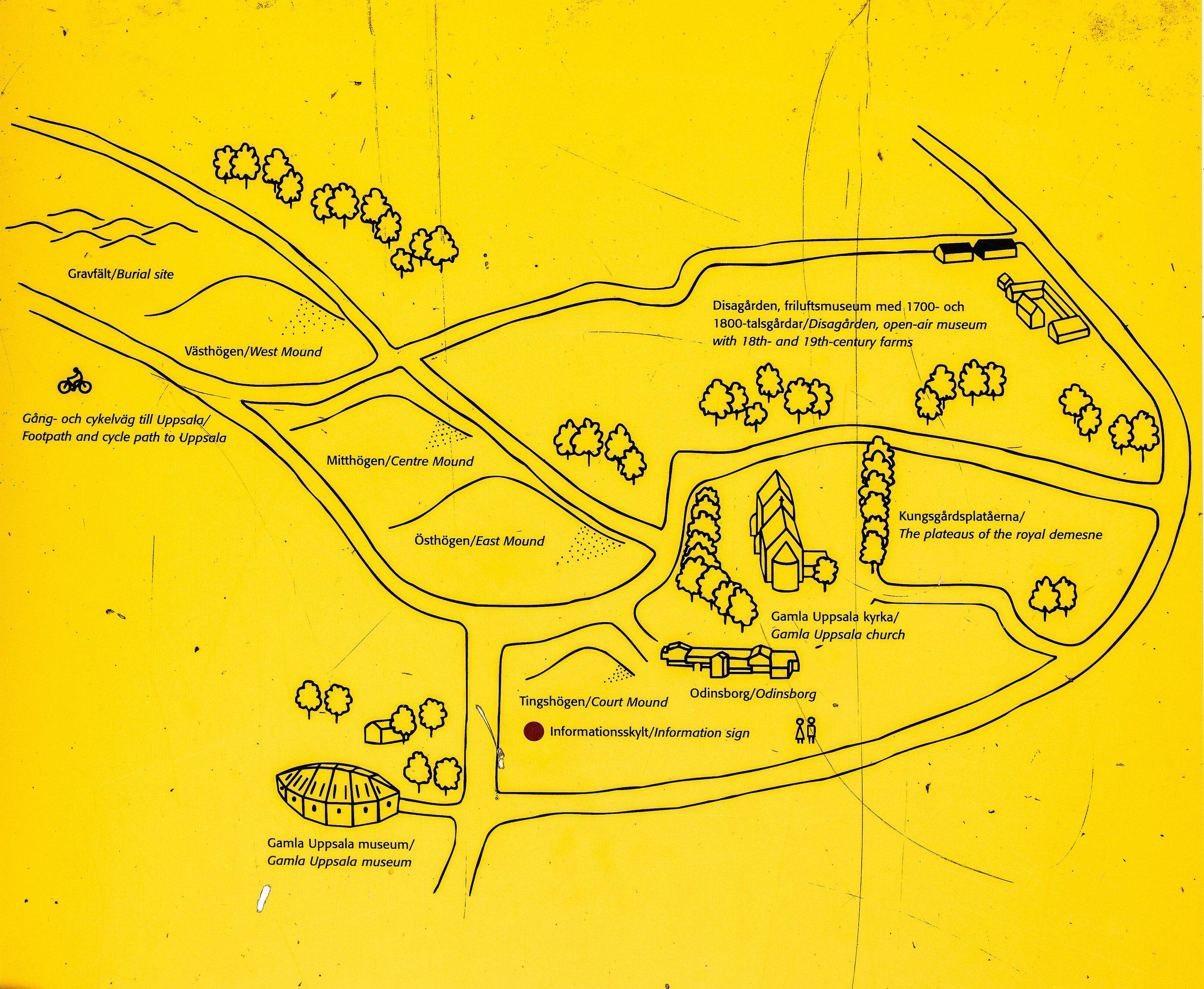 plan of gamla uppsala