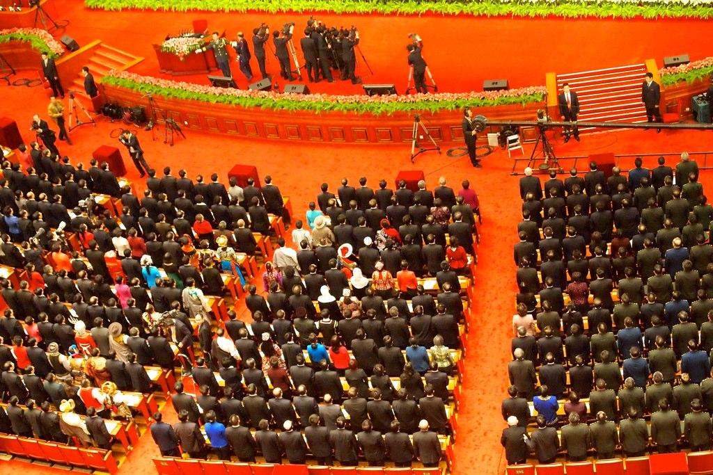 Делегати по време на 18-я конгрес на ККП през 2012 г.,  flickr/Remko Tanis