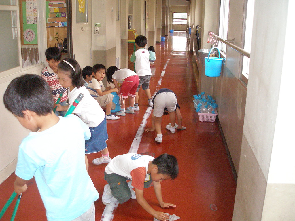 Почистване на училището  Източник