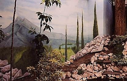 French Landscape detail