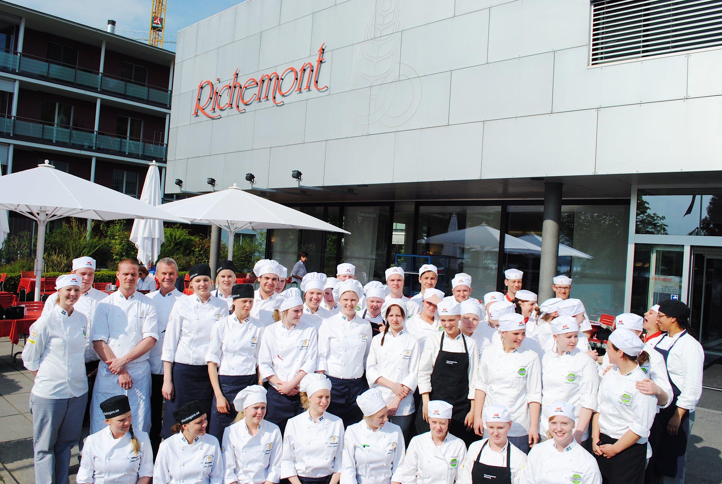2009 - 2018 : 10 års lyckat samarbete - 2009 arrangerade Stiftelsen Einar Belvén tillsammans med Sveriges Bagare och Konditorer (SBK) och Delicato bakverk AB, för första gången en studieresa för blivande gesäller inom bageri och konditori.