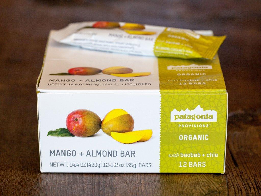 Patagonia Provisions Mango + Almond Bar (v)