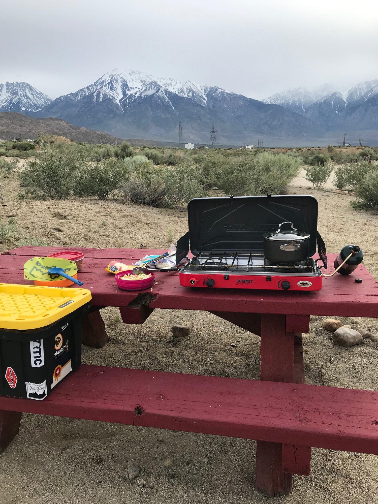 Car Camping Kitchen Essentials Satiate Nutrition