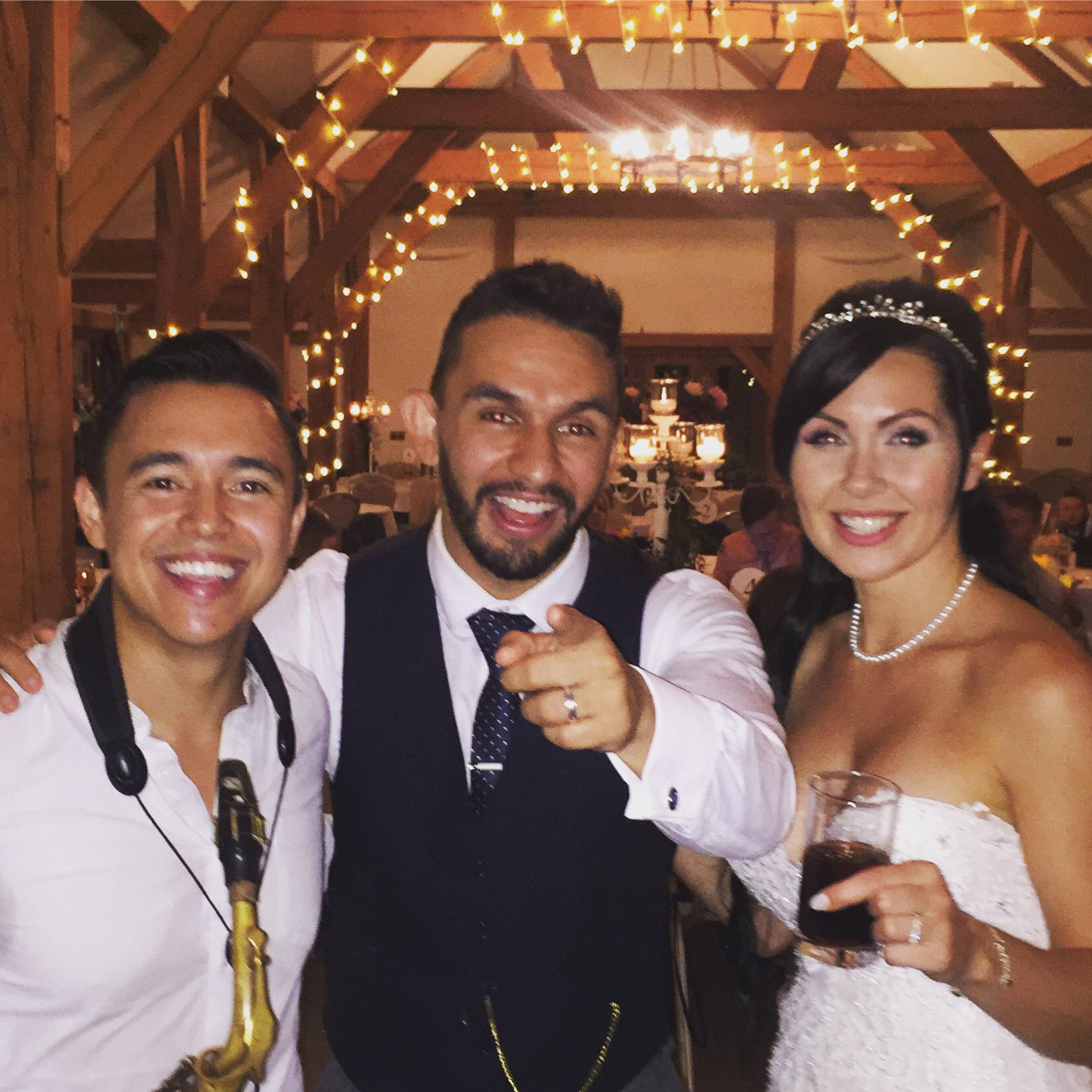 "- ""Matty came to my wedding and blew the whole party away! He brought the most amazing atmosphere and got involved with the crowd. Thanks so much, I'll 100% be booking you to any party I throw""!"