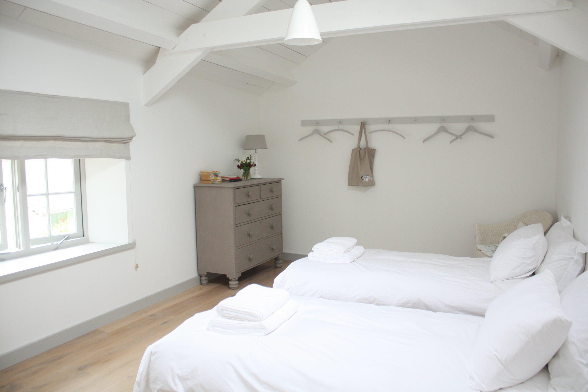 Upcott Farm Calfshed Bedroom