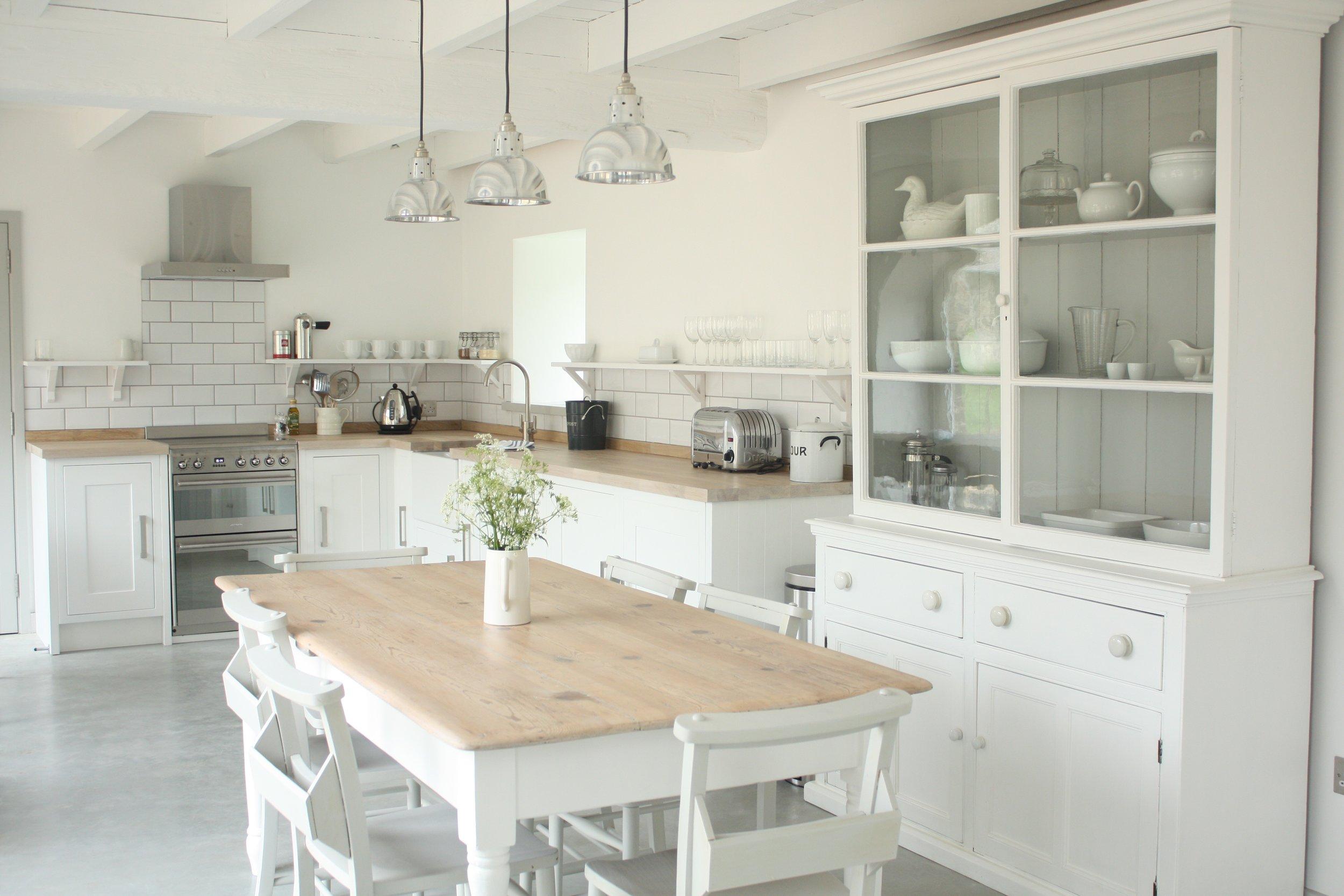 Upcott Farm Calfshed Kitchen