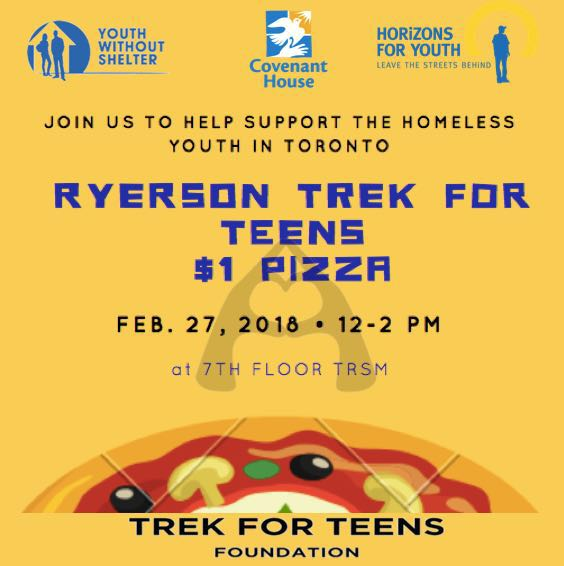 Trek for Teens Ryerson Pizza Sale Poster.jpg