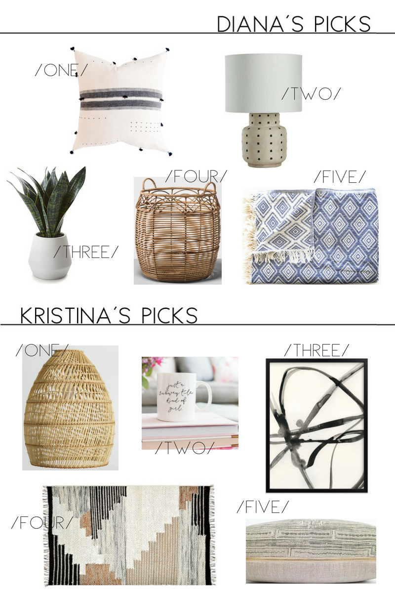 spring decor picks