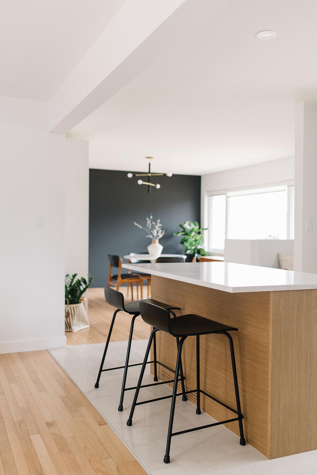 modern bungalow design, edmonton interior designer