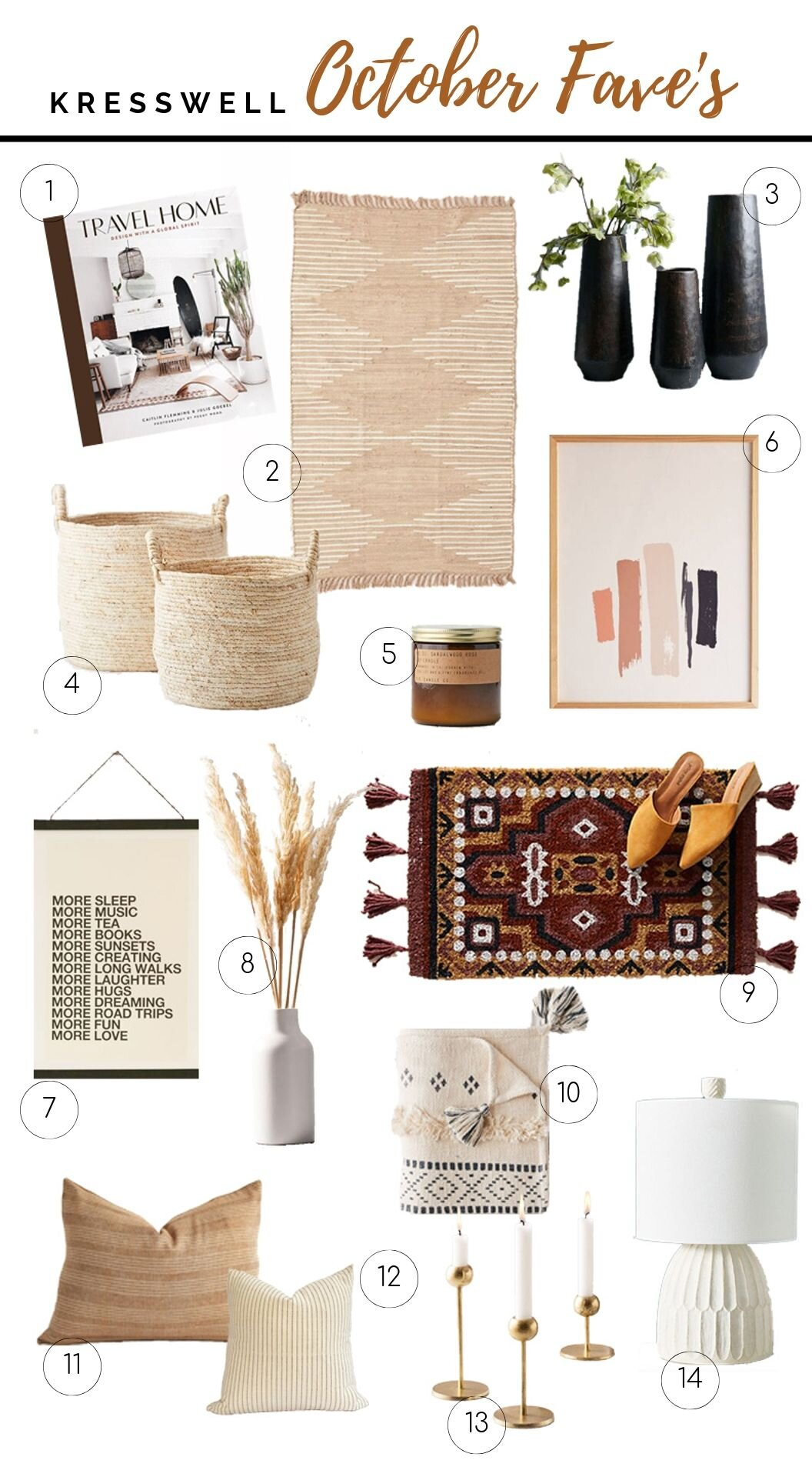 fall decor favourites