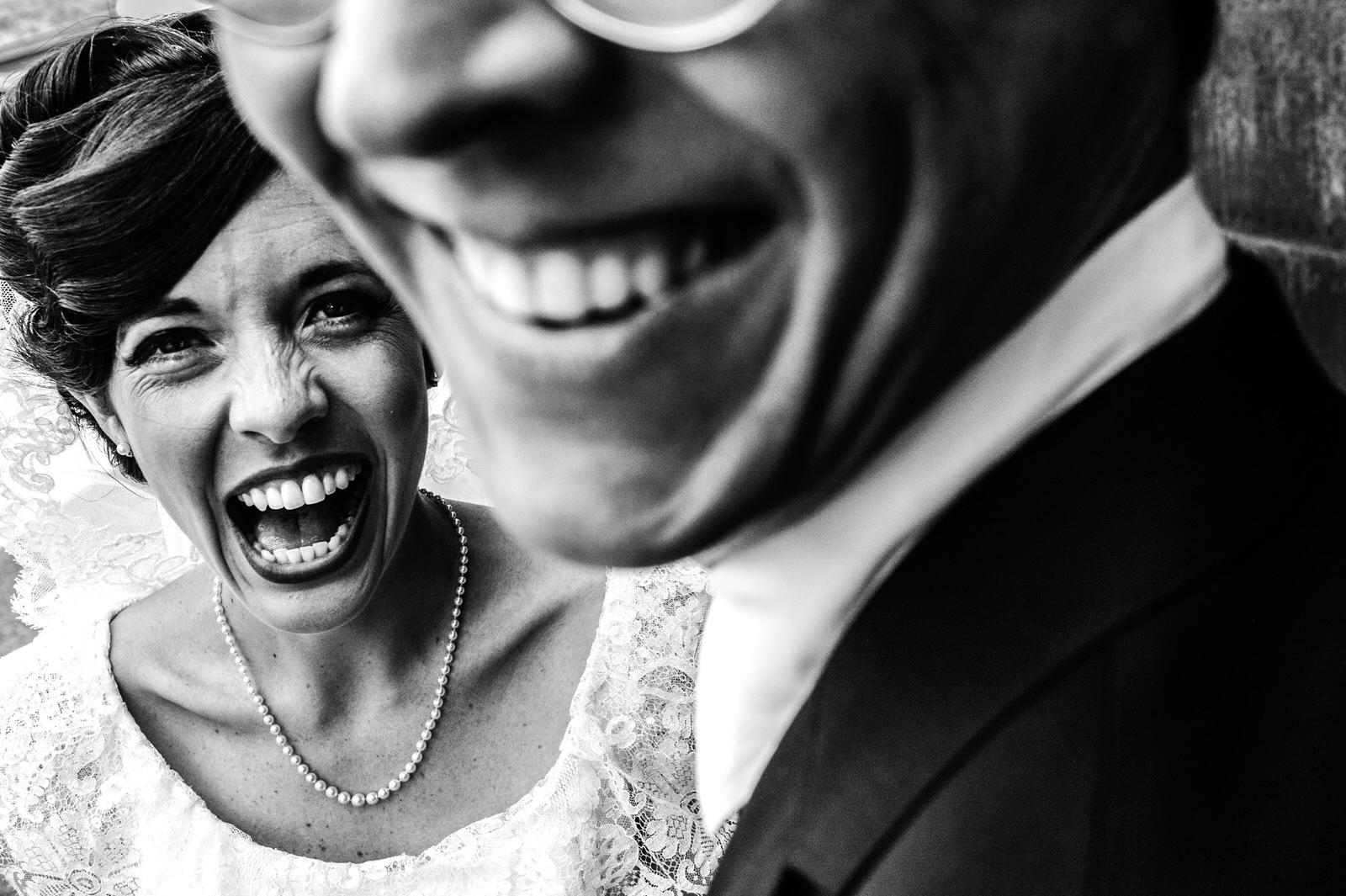 Bride and Groom Smiling Tucson Arizona