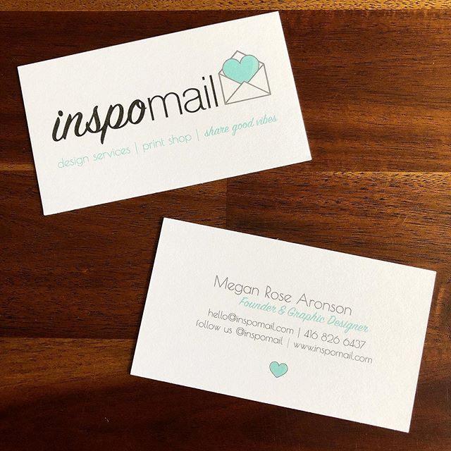 Hot off the press! New business cards are in. #sharegoodvibes