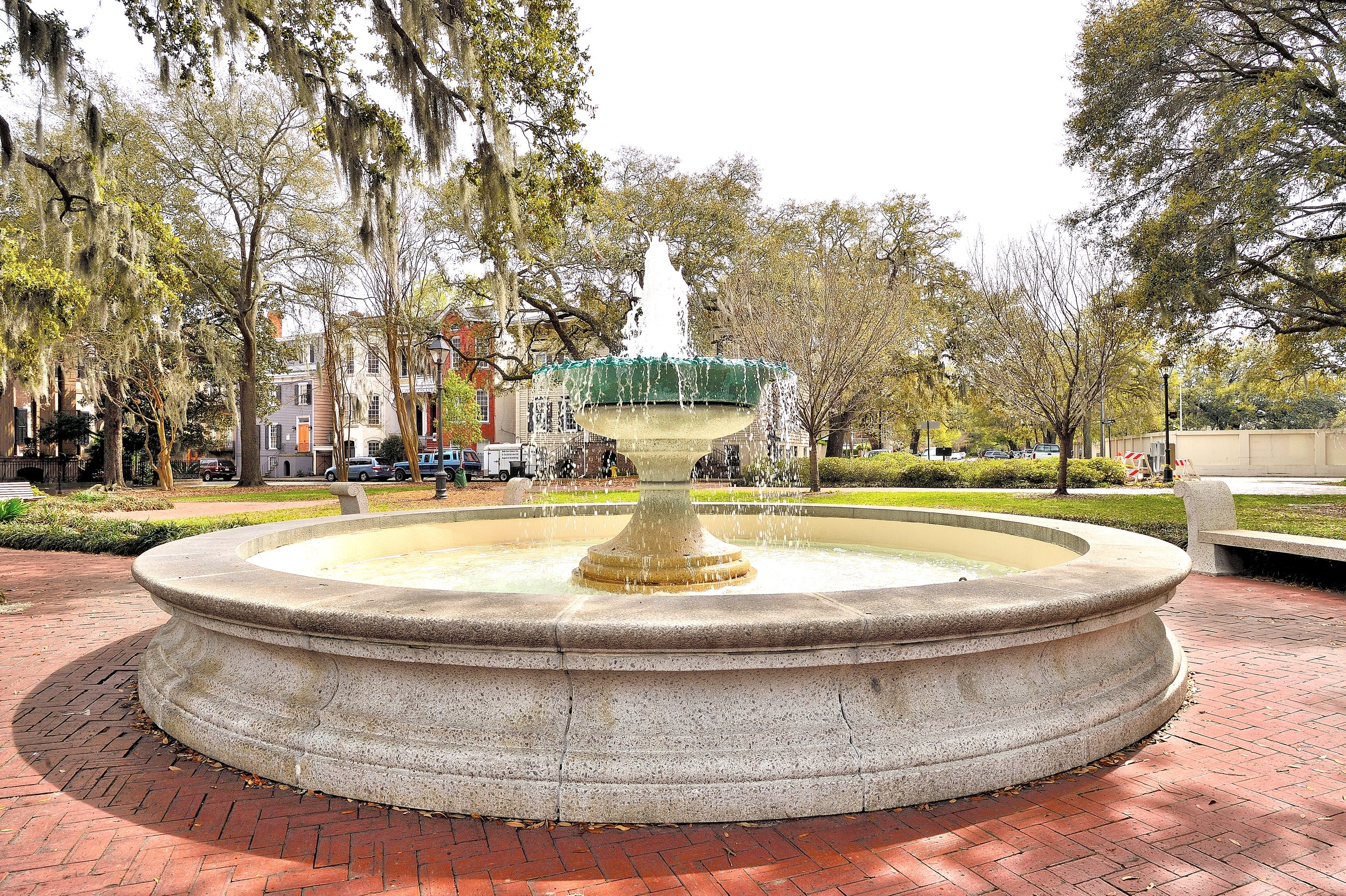Fountain - Savannah, Georgia