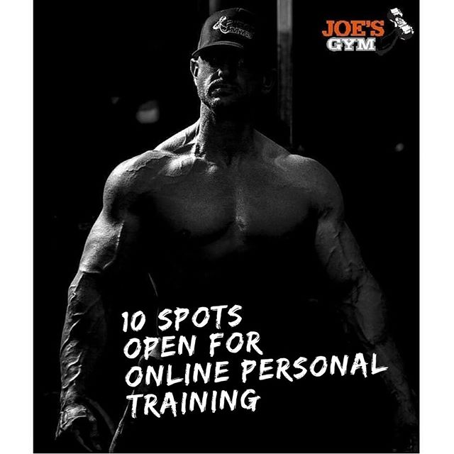 Opening up 10 Spots for Online/Remote Personal Training *Step by step program *Full access to online website with how to videos *App capability to follow all workouts with videos attached *Food logging with daily review *Live Q and A sessions *Nutrition help (Certified Health Coach) Reach out for details💪💪💪#startnow #dontwait #summerbodies