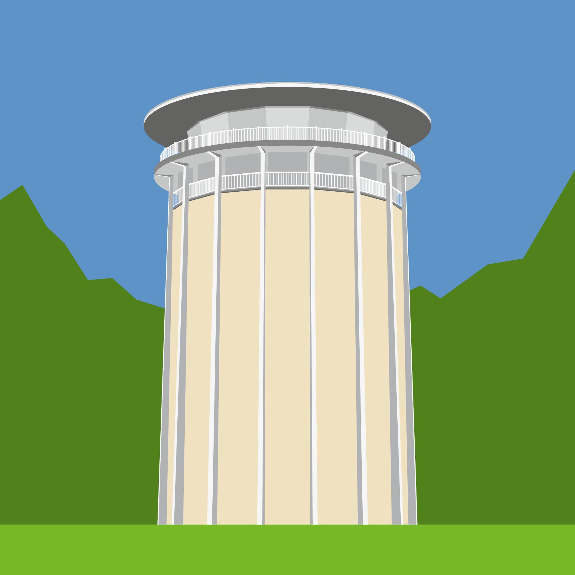 Drehturm Belvedere