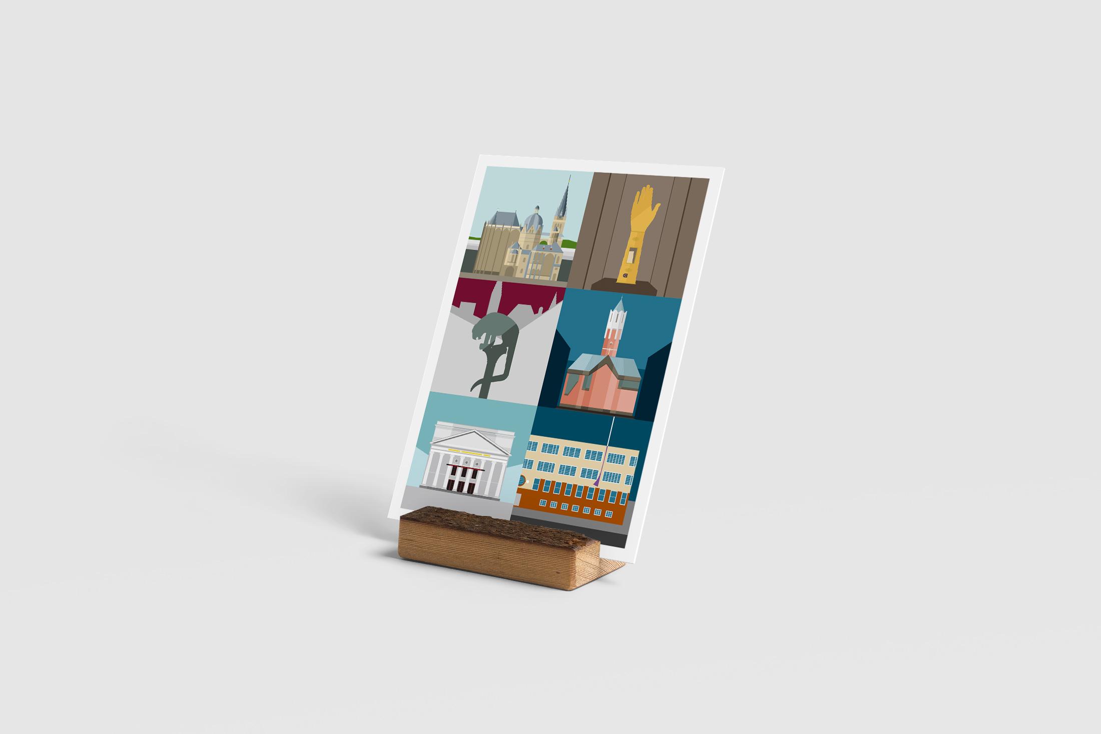 Formsaachen Postkarten Aachen