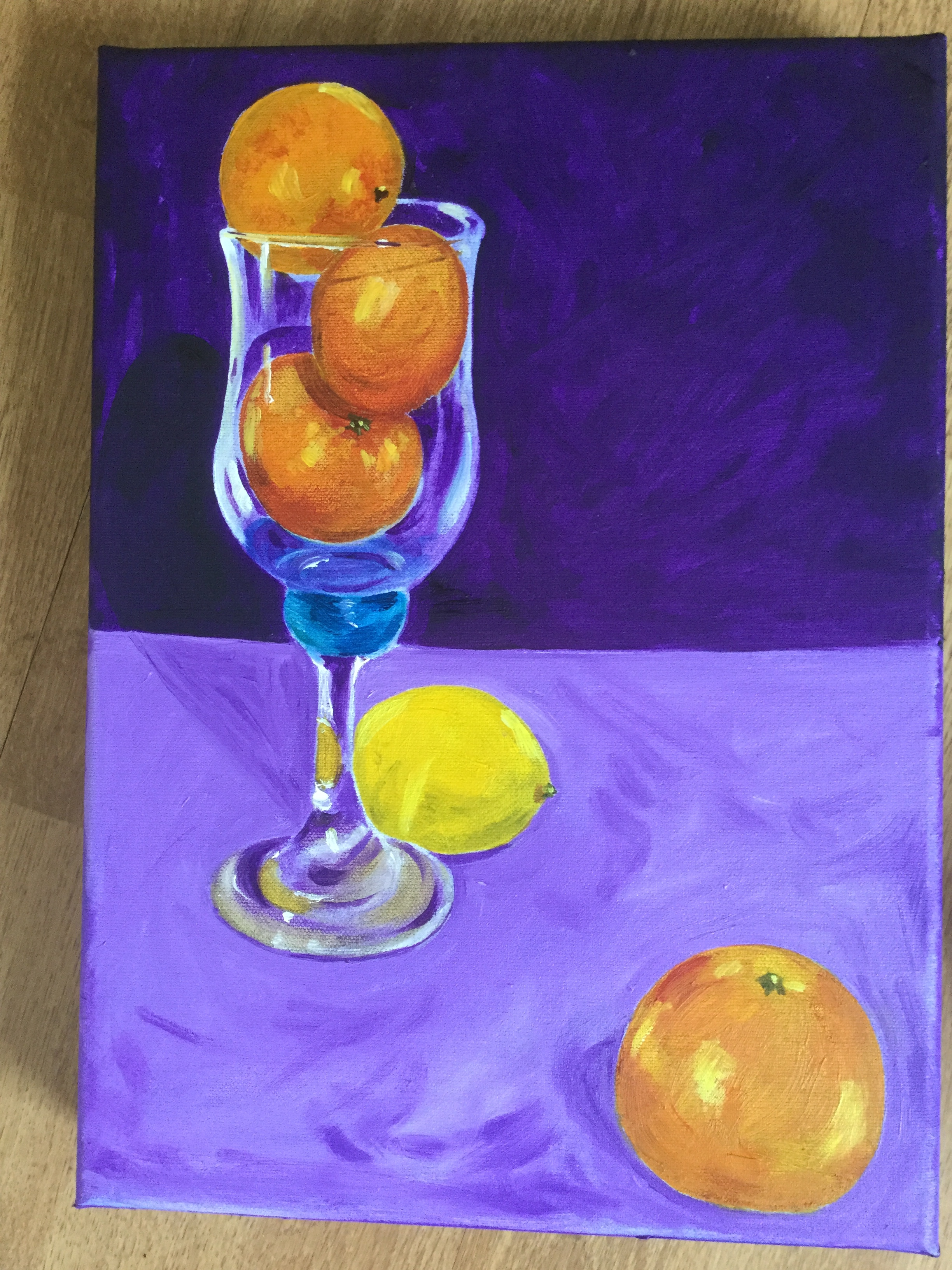 Study in Purple and Orange