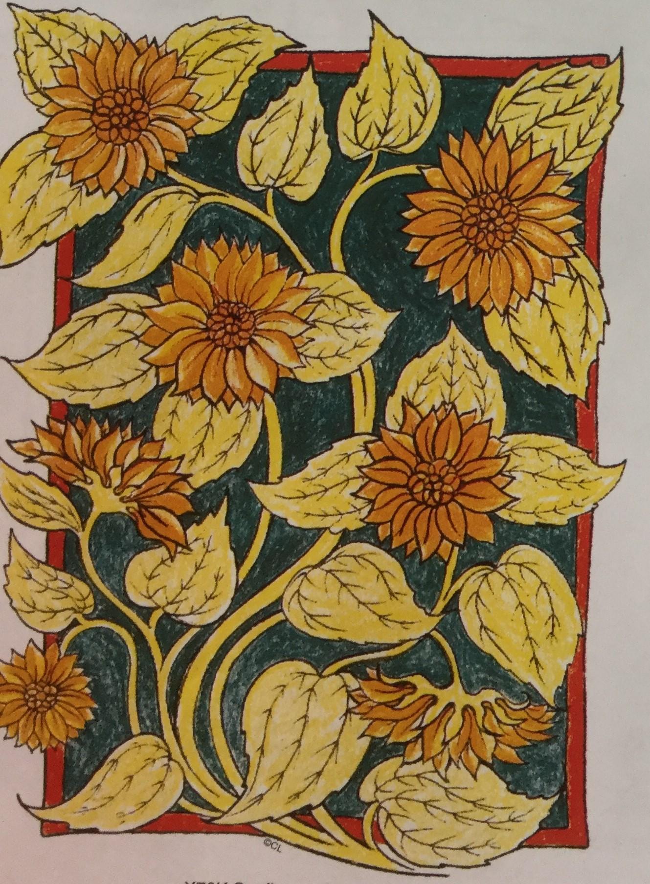 Sunflower Flourish