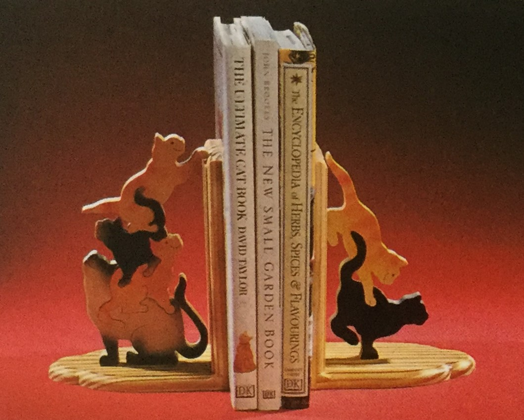Cats Book End