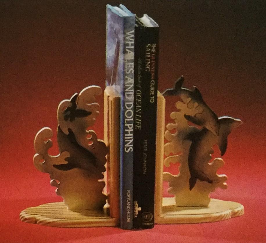 Dolphin Book End