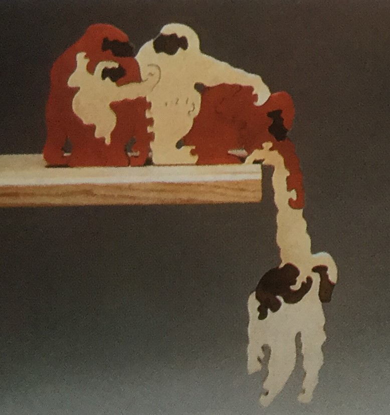 Hanging Monkeys