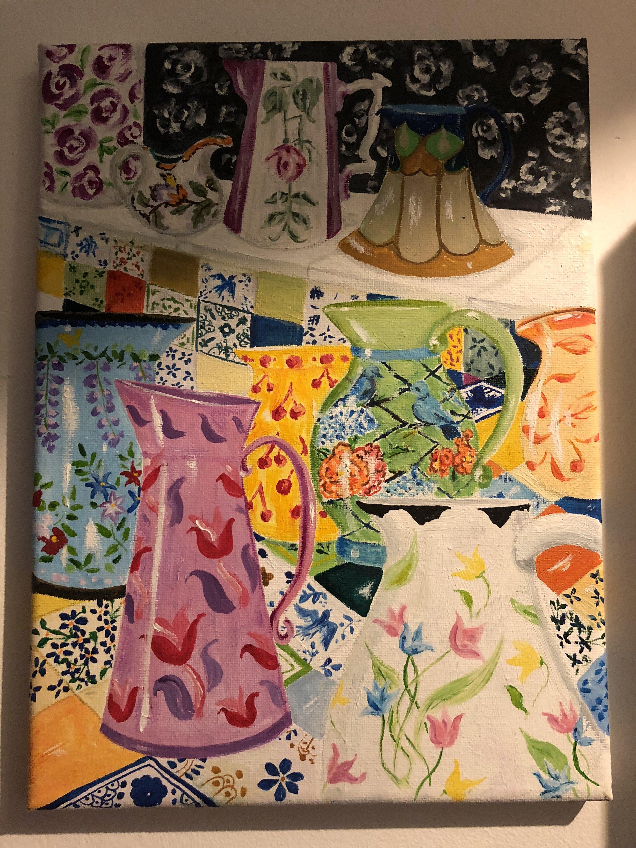 Floral Jugs