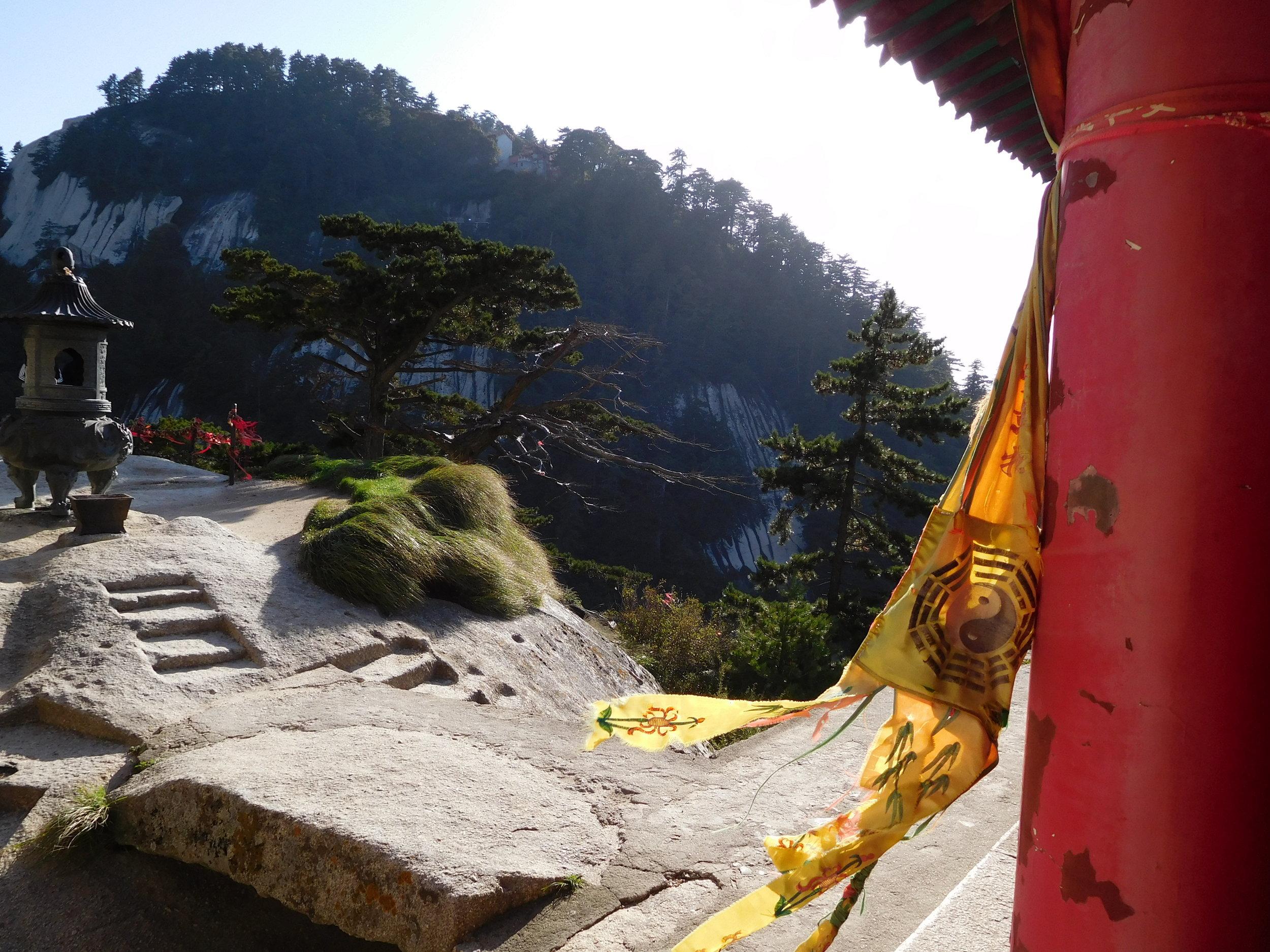Temple on Central Peak.