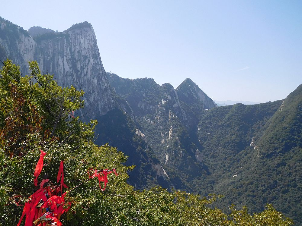 The massive West Peak, seen from North Peak.