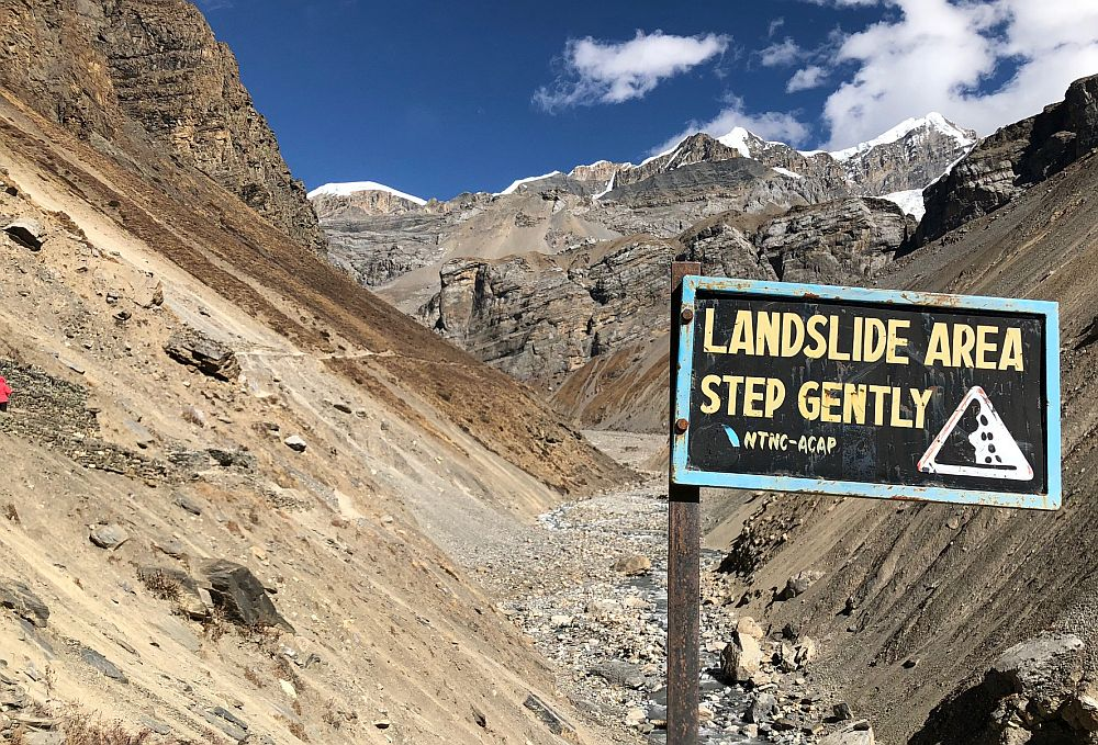 The Annapurna Conservation Area Project welcomes you to Thorang Phedi!