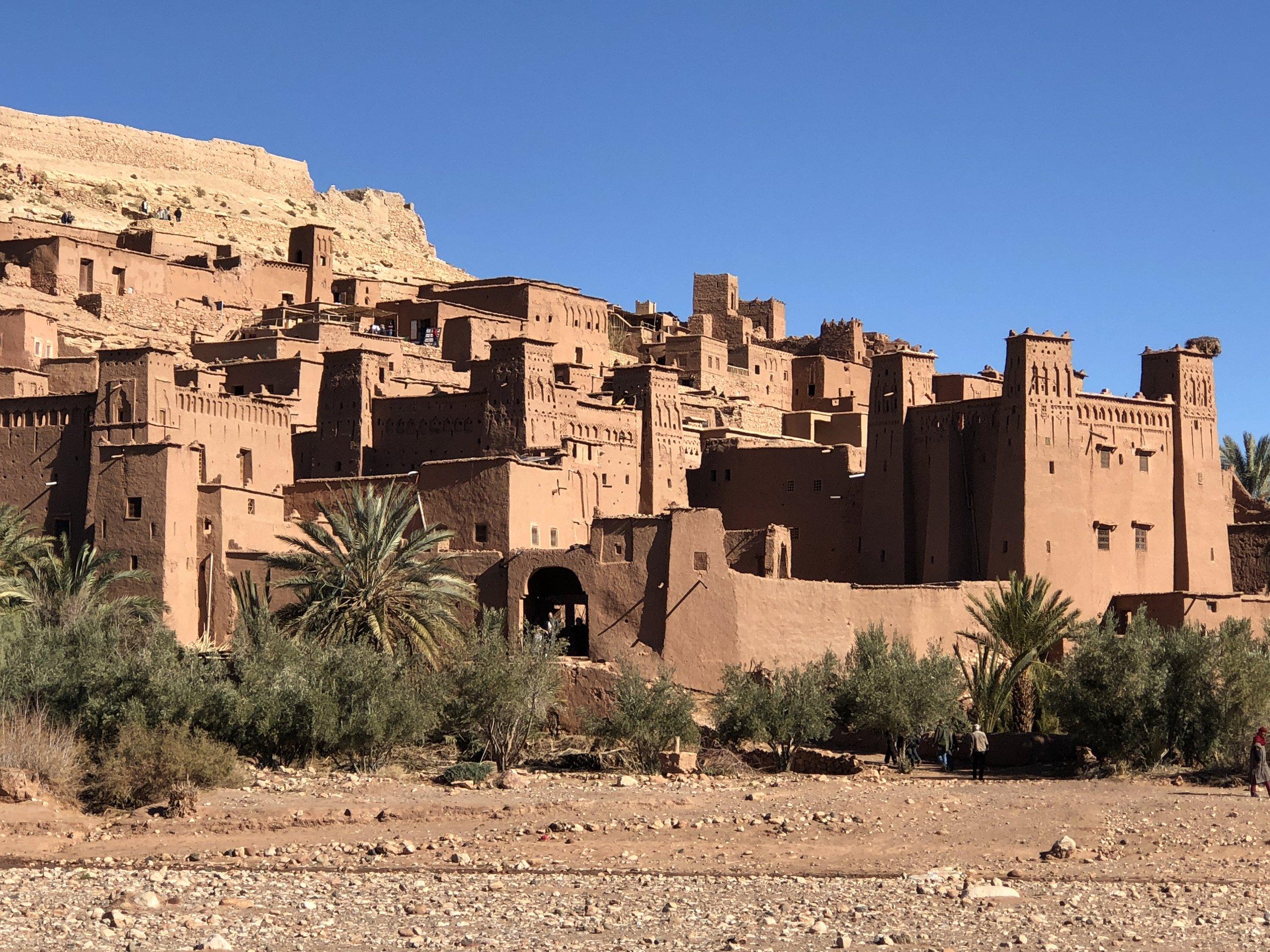 Rock the kasbah: Ait Ben Haddou.