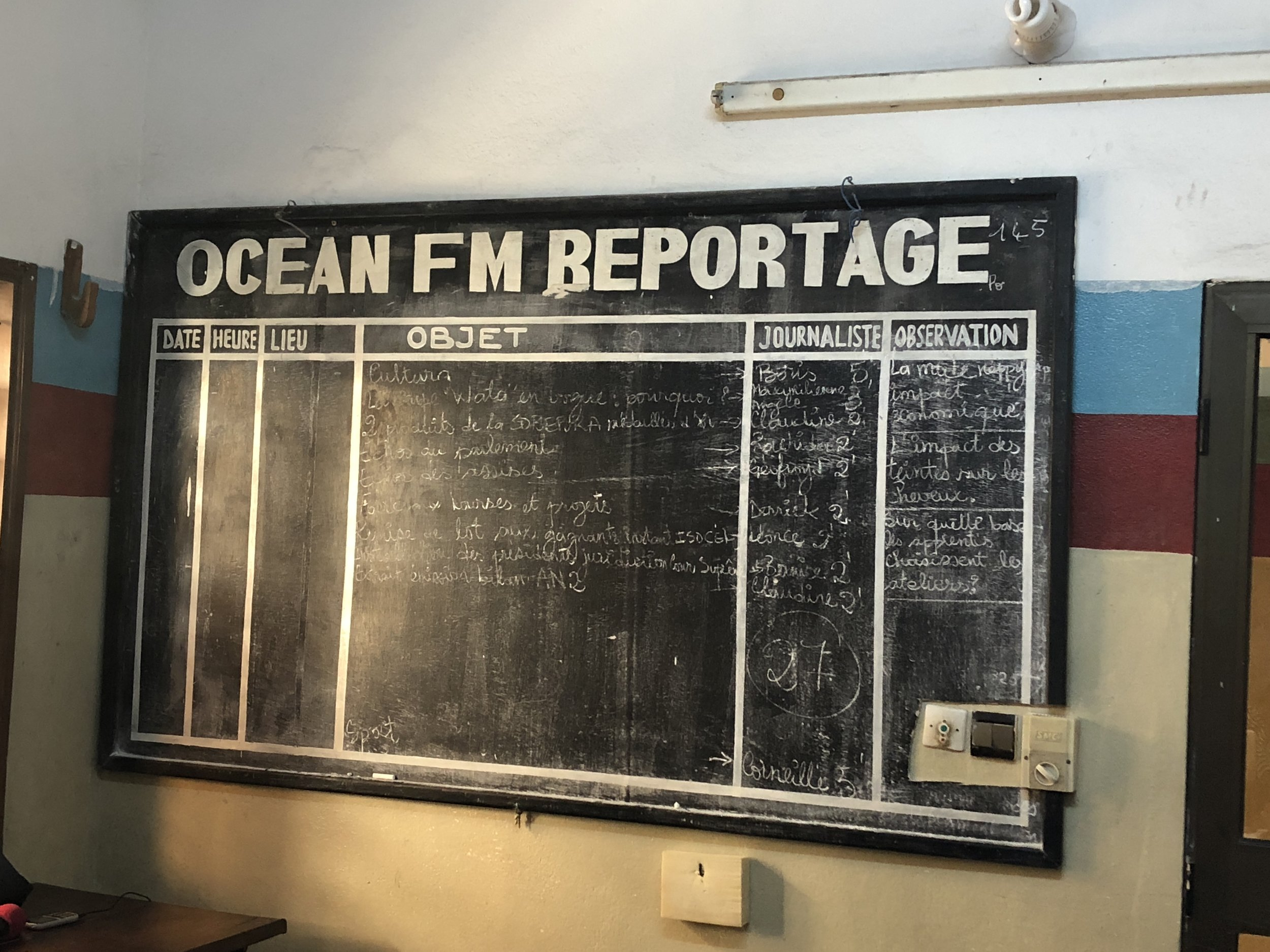 I do love an organized assignment board!