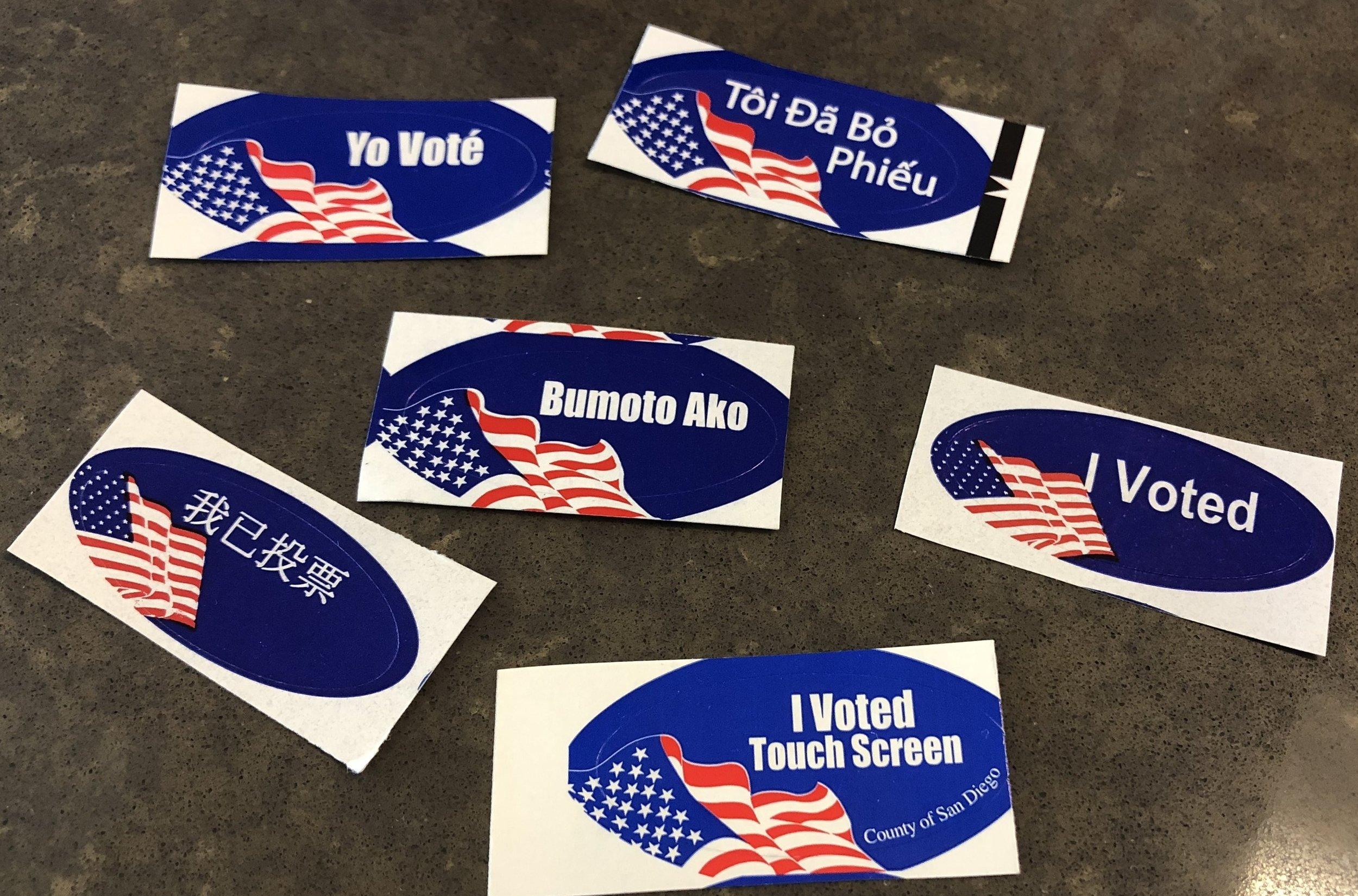 Yo vote!
