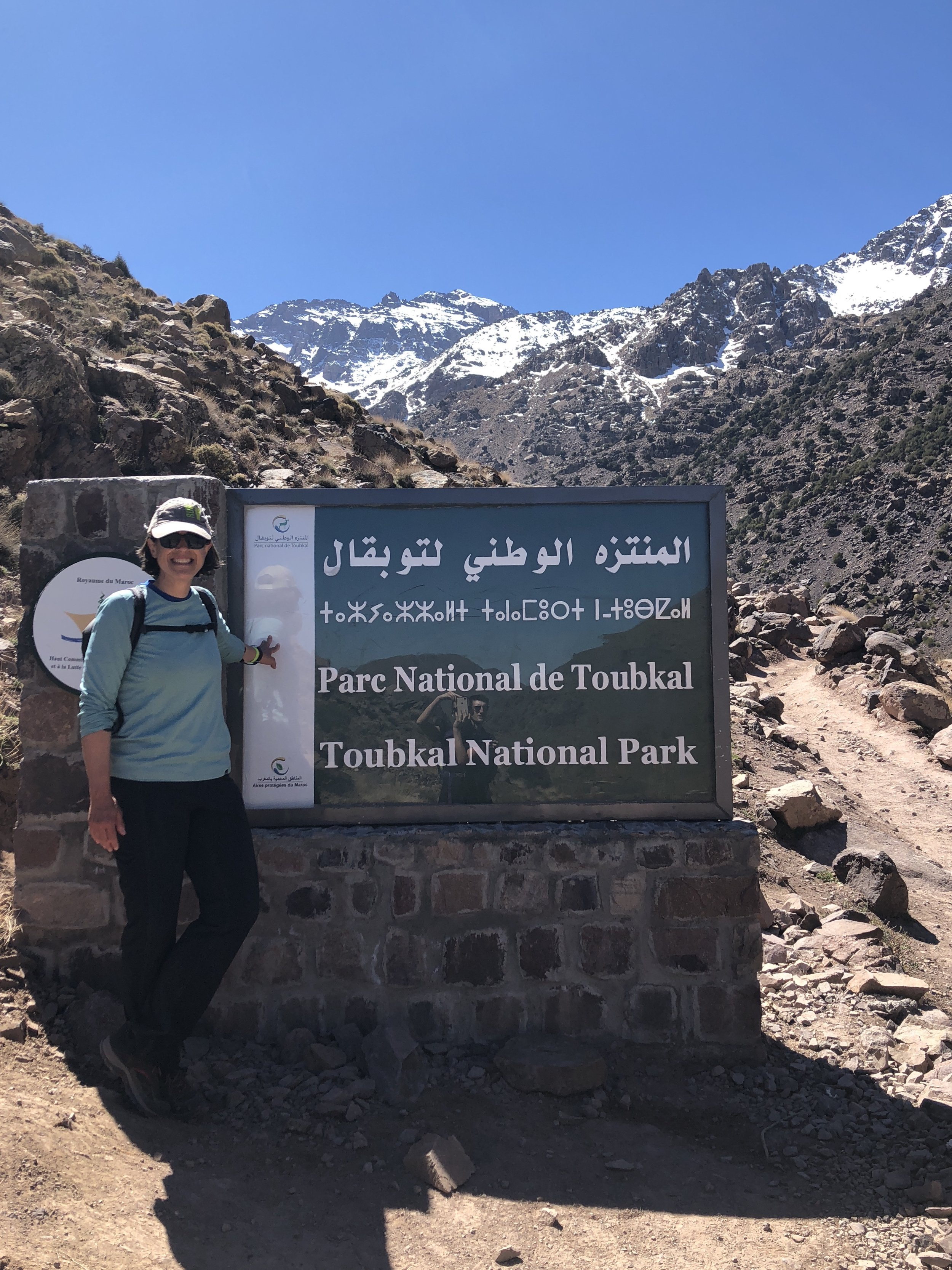 Hikers and polyglots welcome.