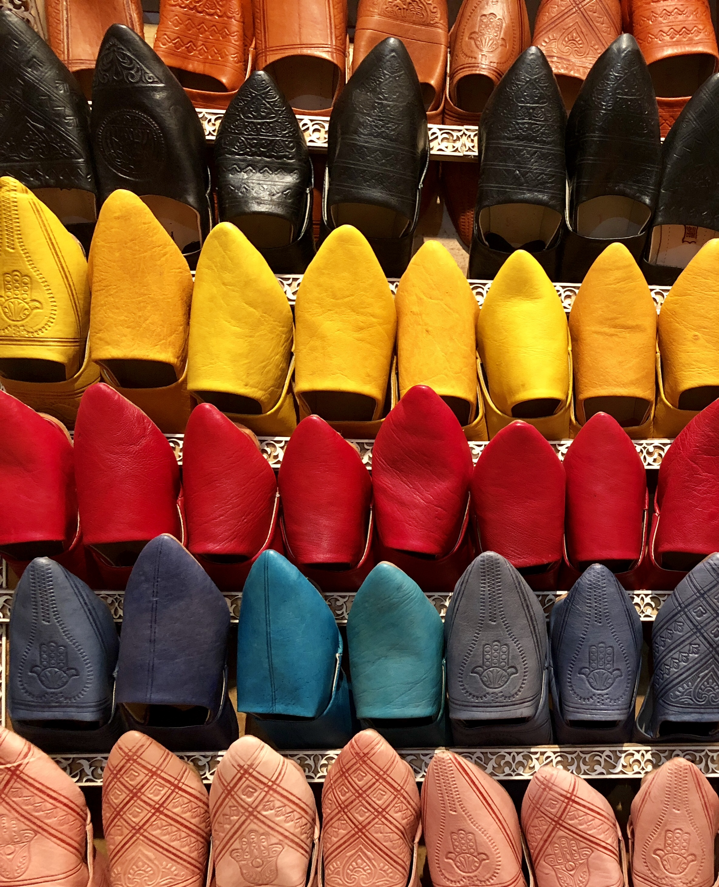 Leather slippers #buylocal