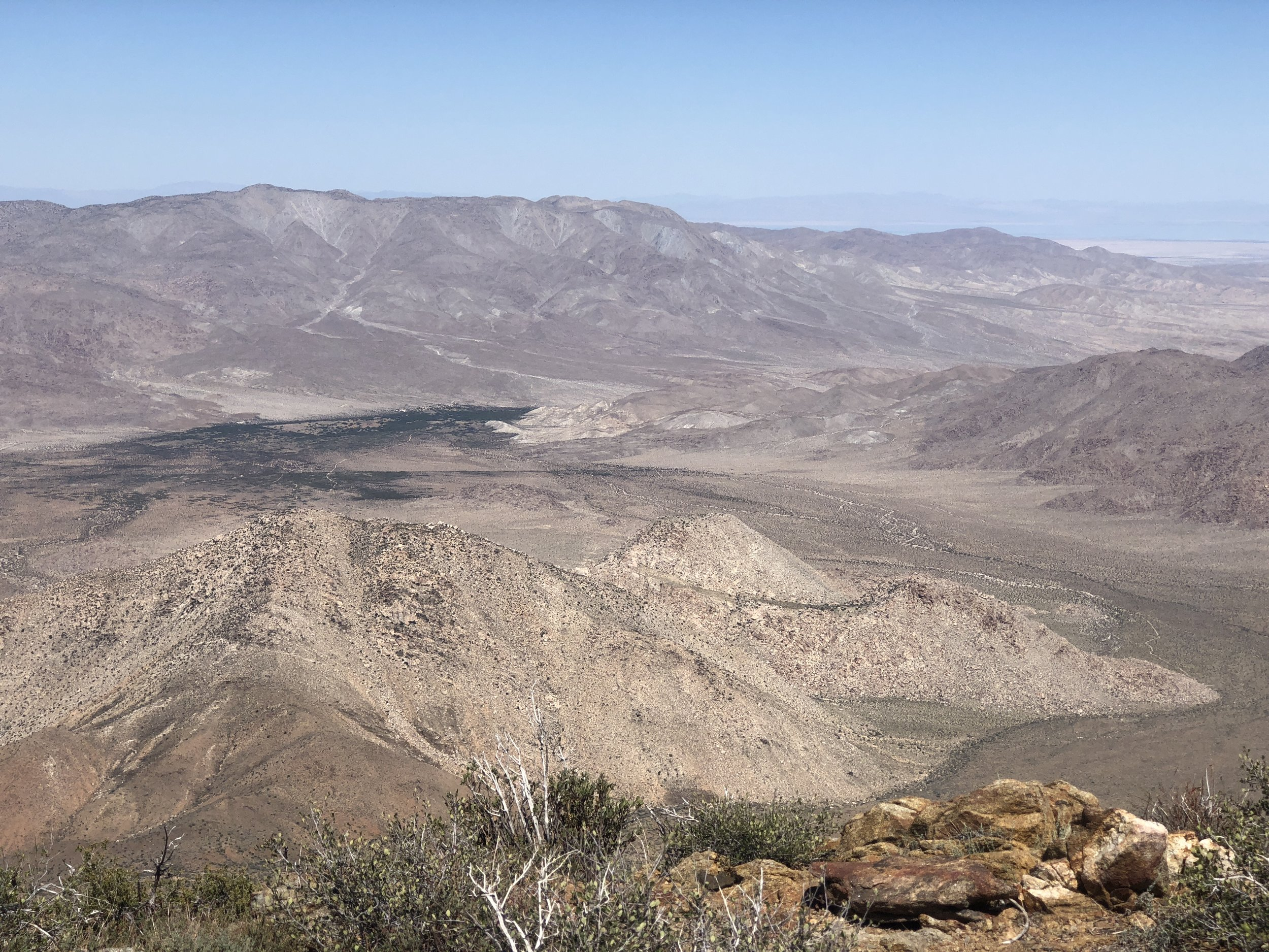 Looking northeast from the PCT.