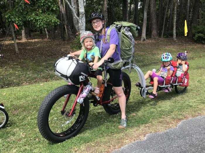 Kids mean lots of gear!