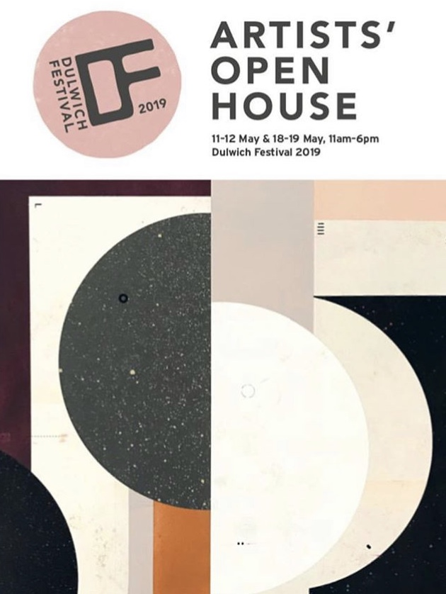 Artists' Open House - Showing new paintings along side fabulous prints, drawings and collages by Julia McKenzie, screenprints by Karen Radford, garden sculptures by Wendy Rainthorpe and ceramics by Georgie Scully.Open both weekends 11-12 & 18-19 May 2019