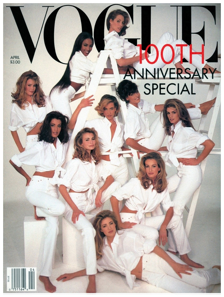 Our amazing business success was acknowledged with a feature on Vogue's cover celebrating our unique denim collections at a time when GAP was at the top of its game.Sales had grown 20% up to $4.3 billion. -