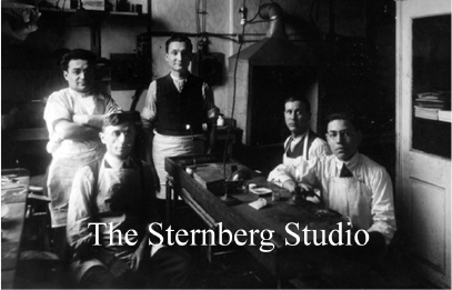 The Sternberg Studio offers photo archiving and custom made albums for high end clients. - Click photo to view site.