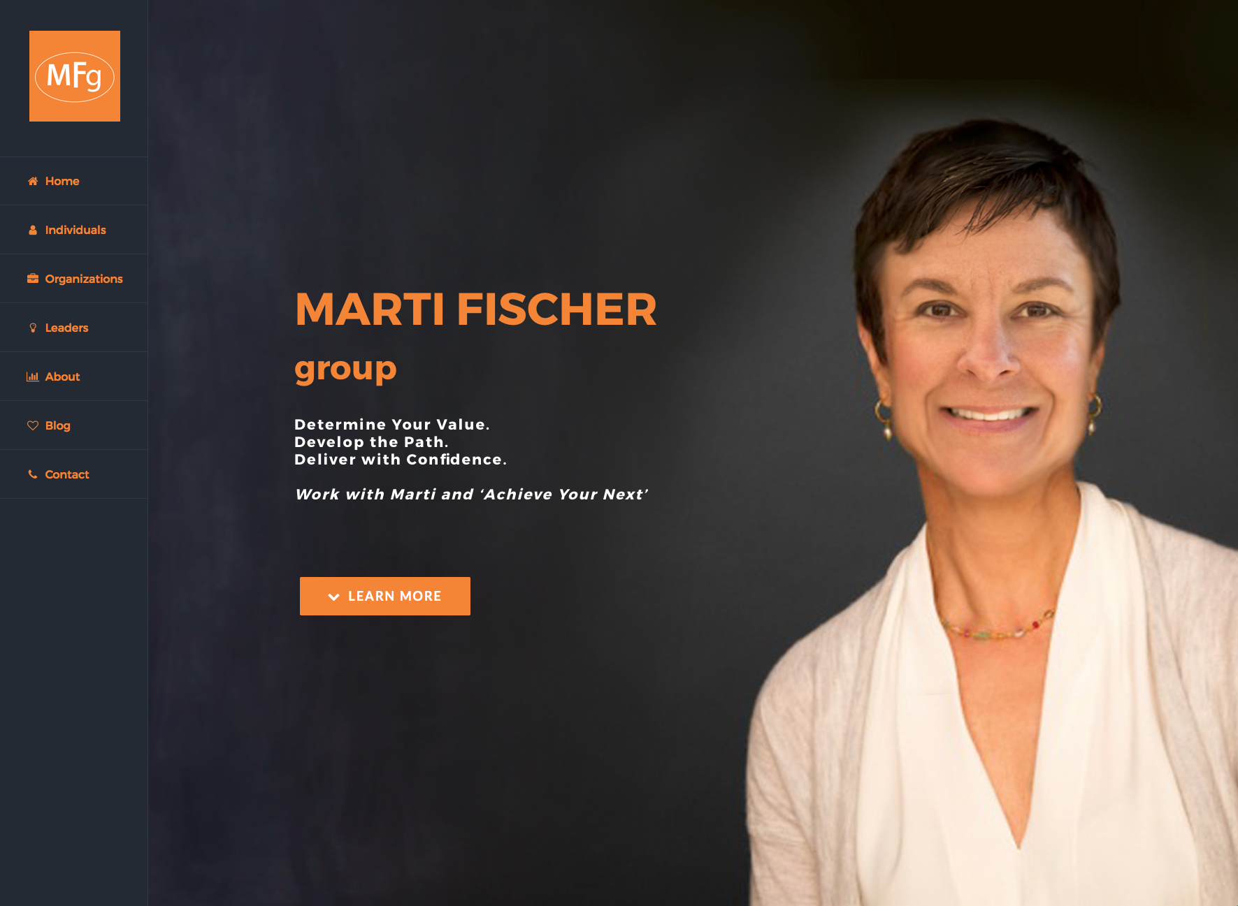 The Marti Fischer Group Corporate coachng and career development. - Click photo to visit site.