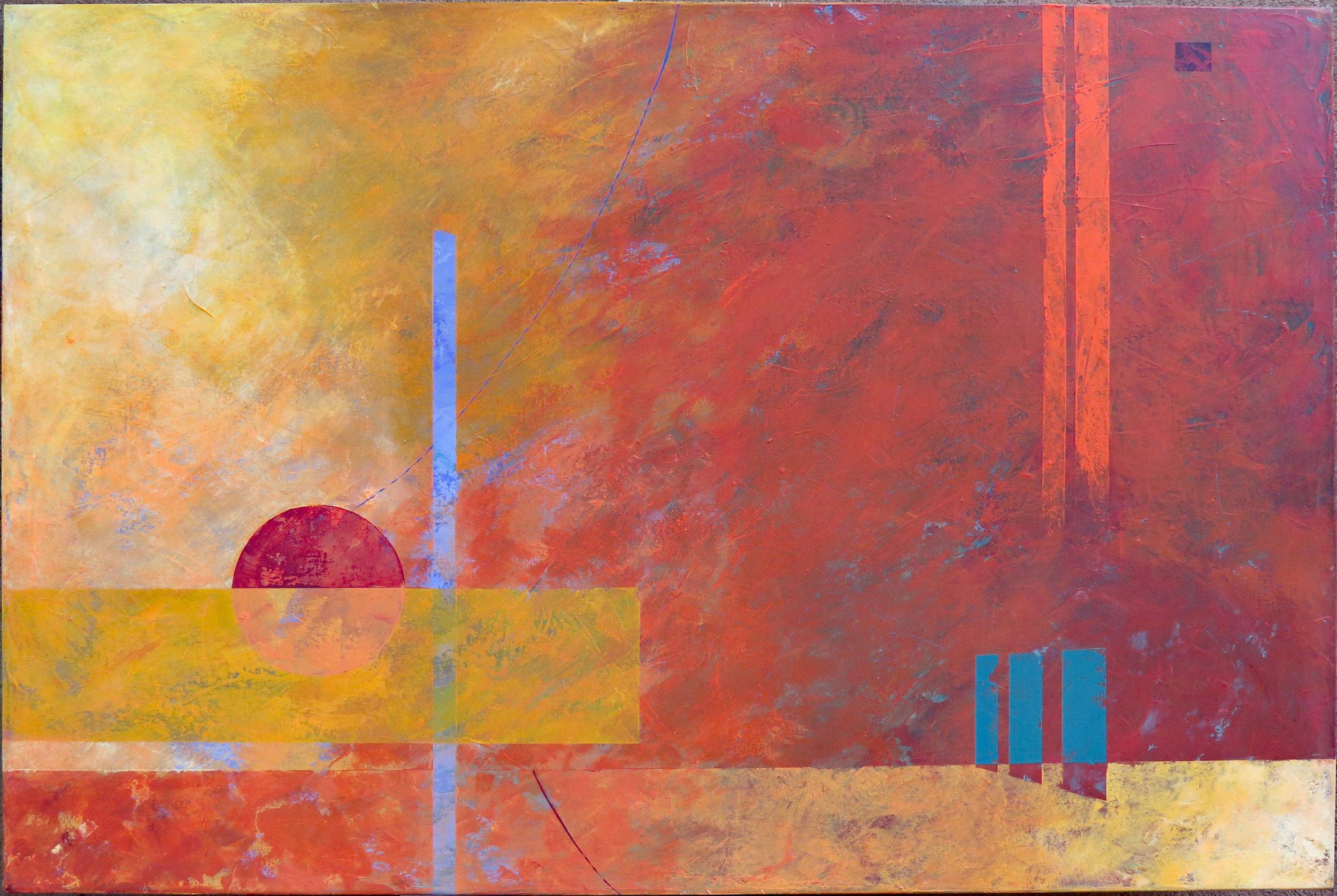 Peach Season - 07 |40x60 | 3600