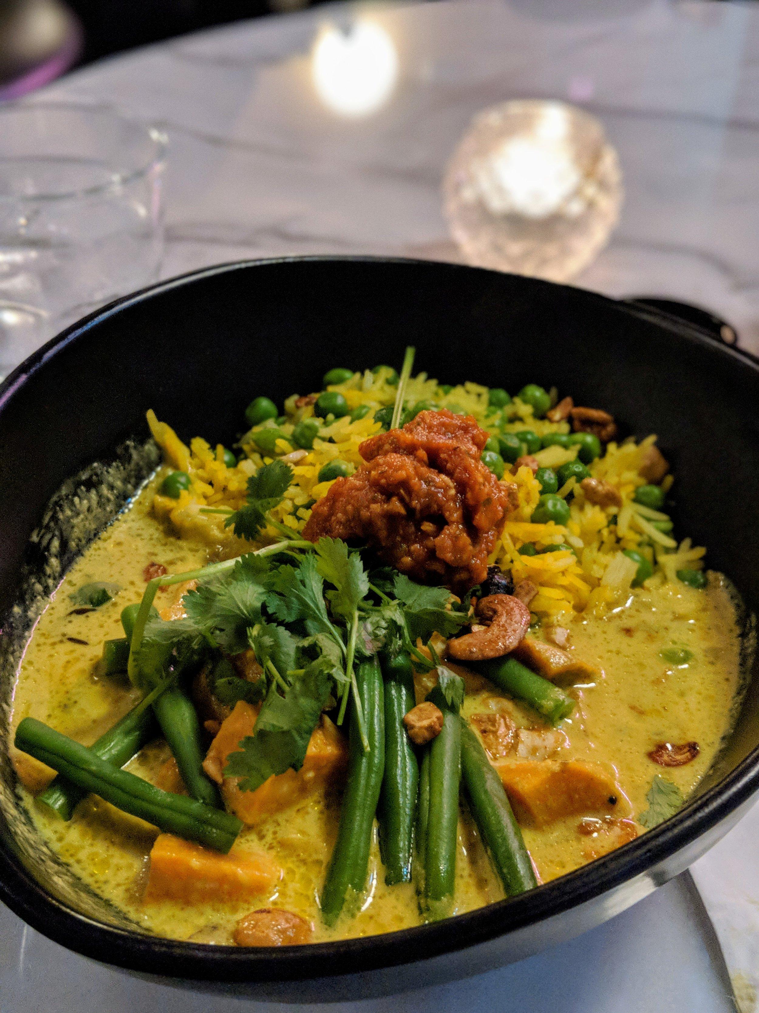 Sri Lankan sweet potato curry