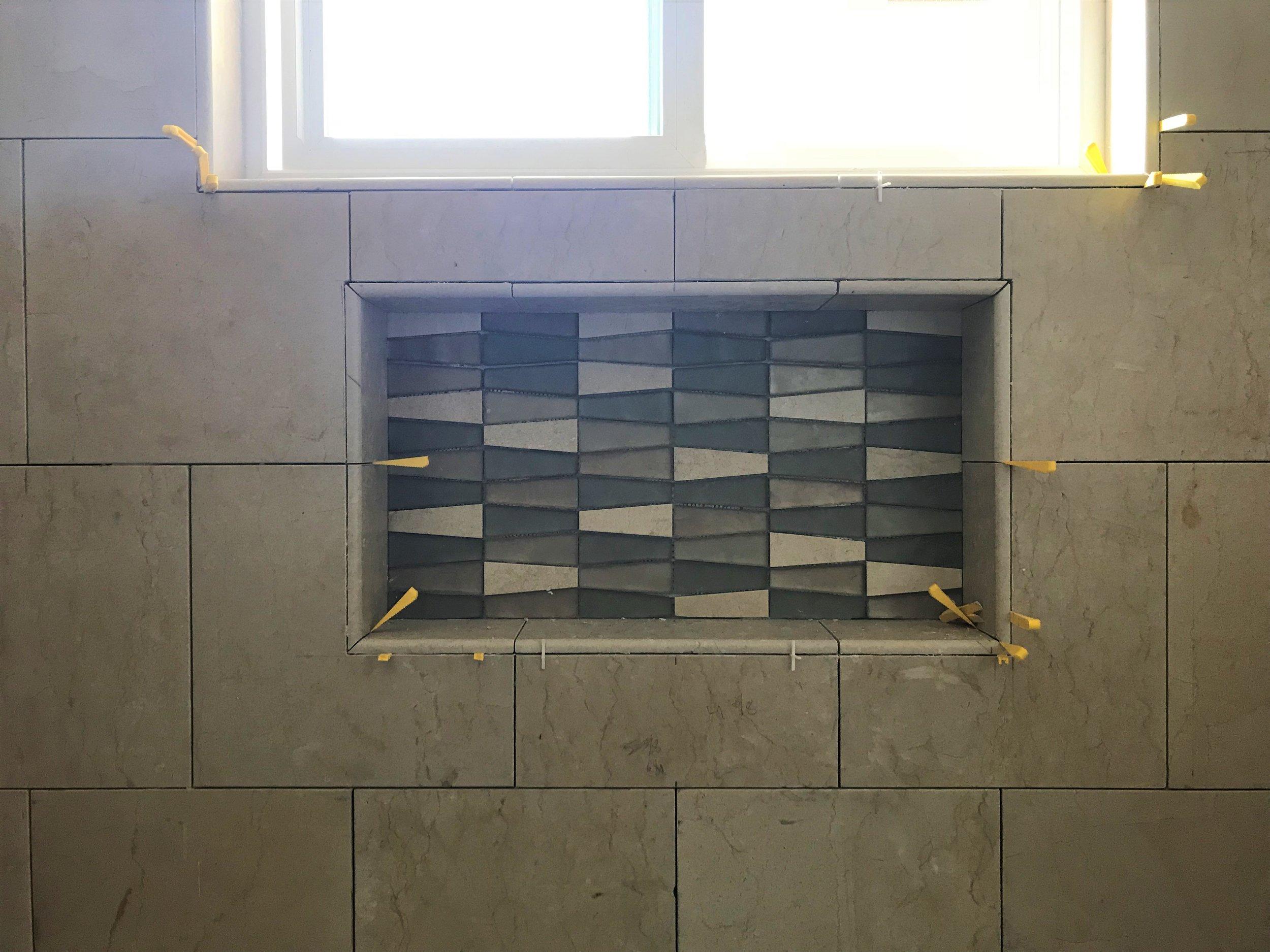 Shower Niche Tile