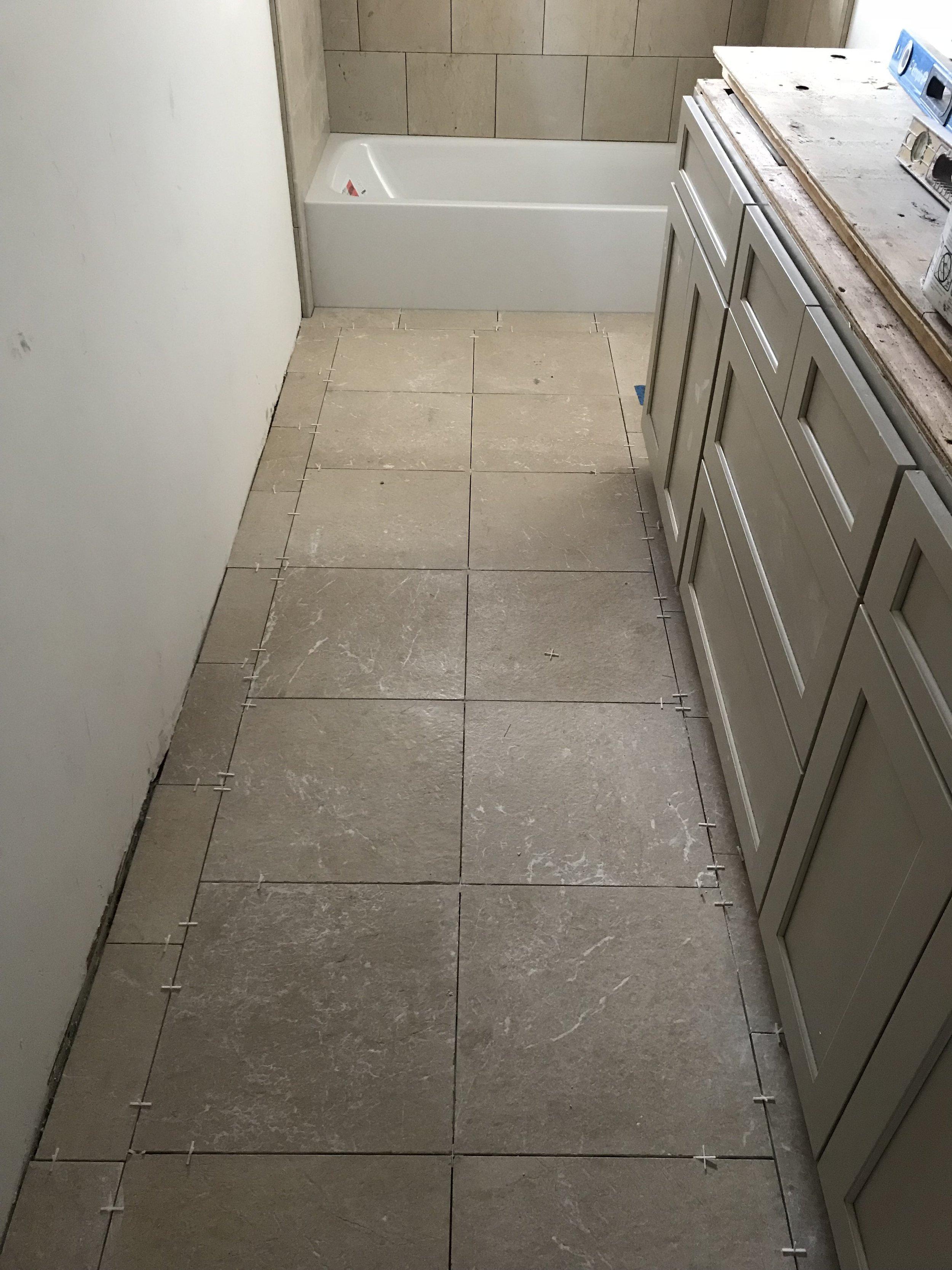 Complete Floor Tile Layout
