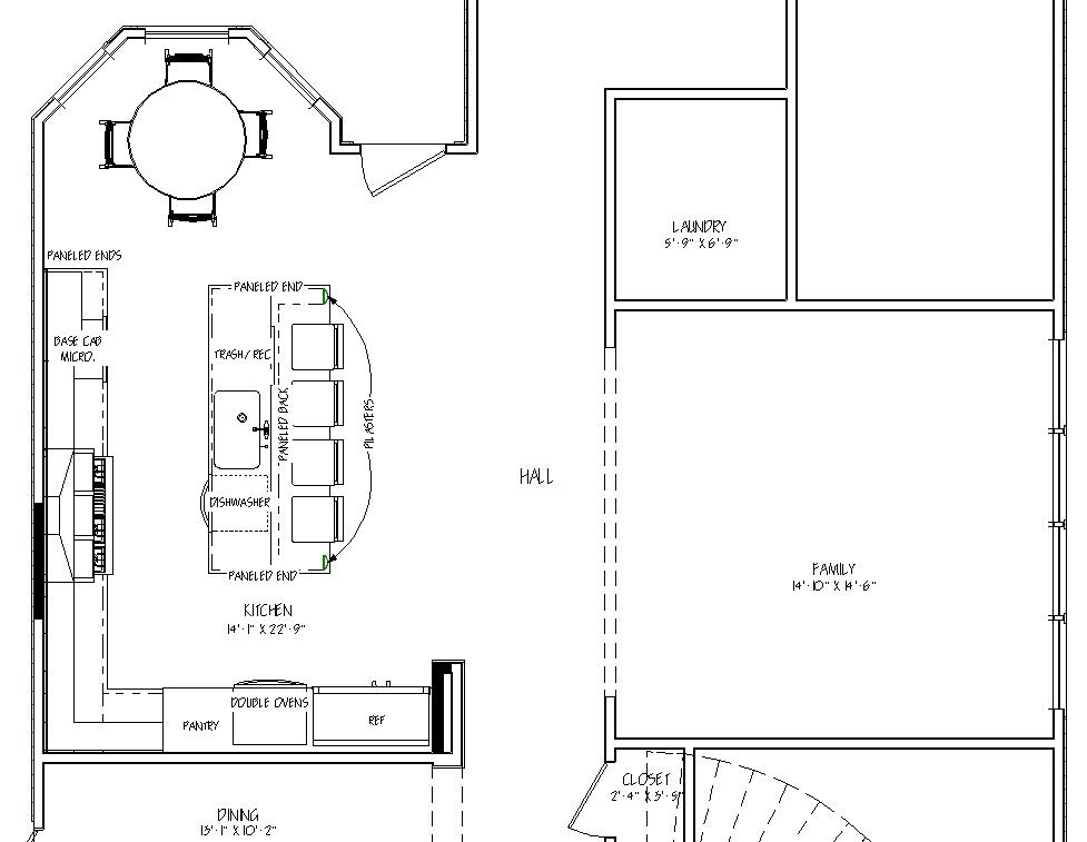 Kitchen Plan - After