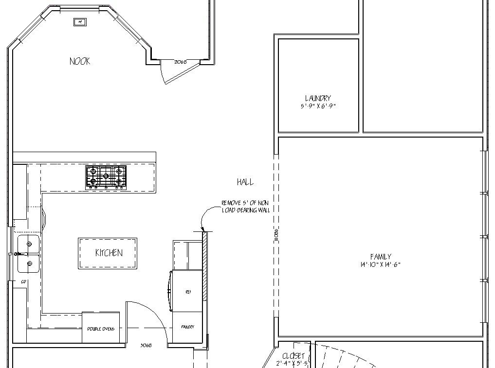 Kitchen Plan - Before